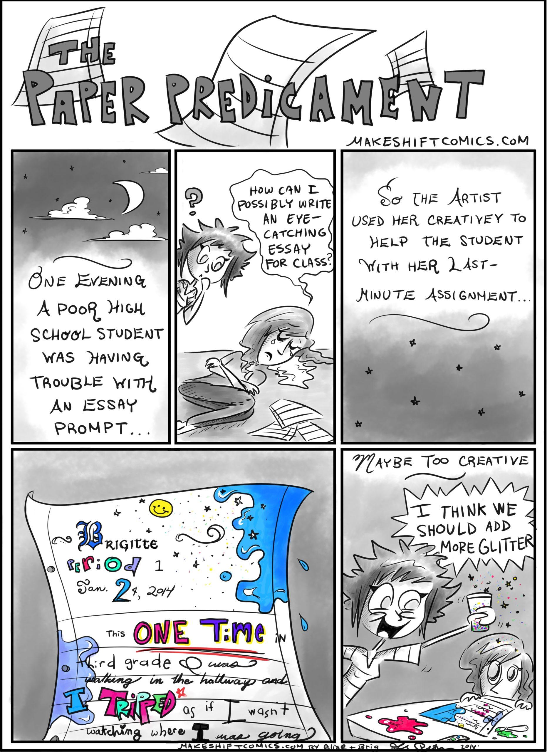The Paper Predicament