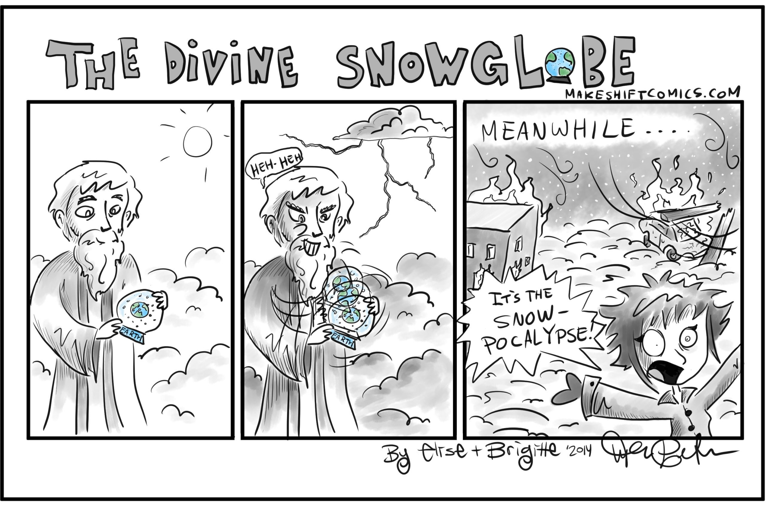 The Divine Snowglobe