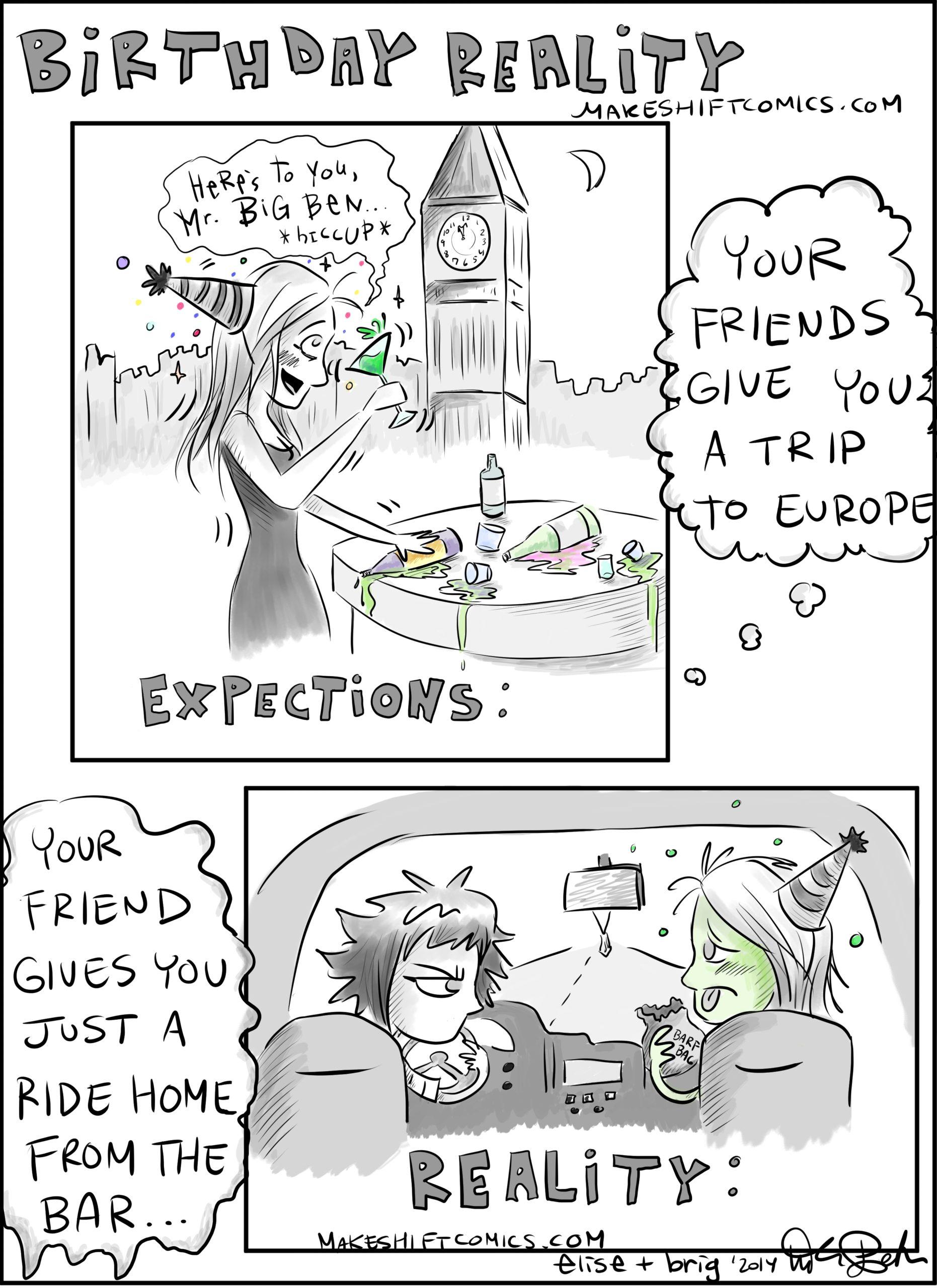 Birthday Expectations