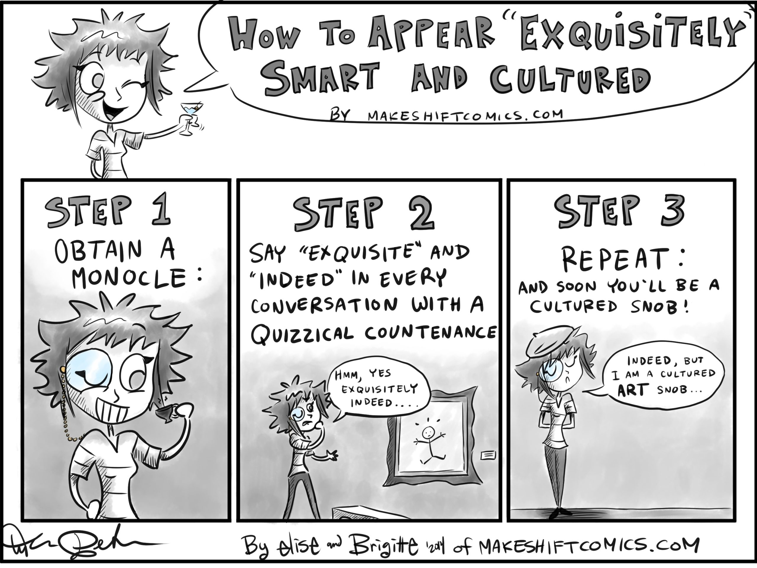 """How to Appear """"Exquisitely"""" Smart and Cultured"""