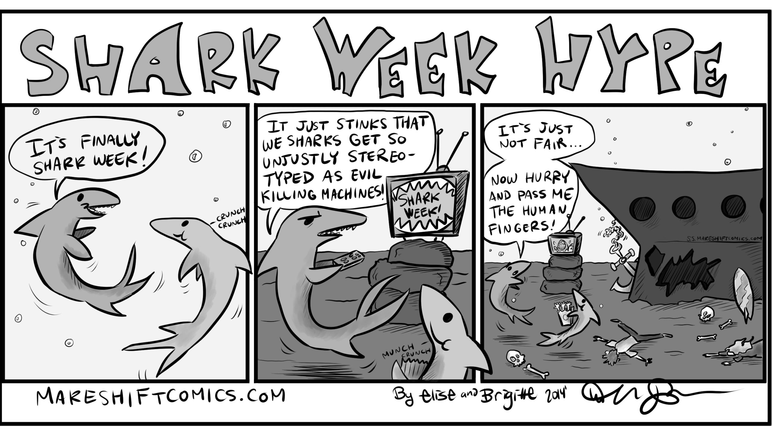 Shark Week Hype