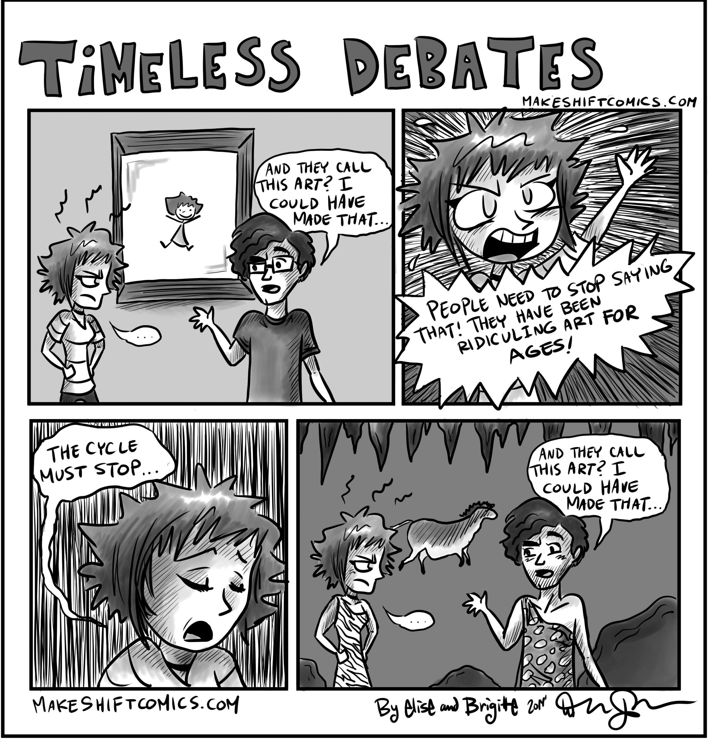 Timeless Debates