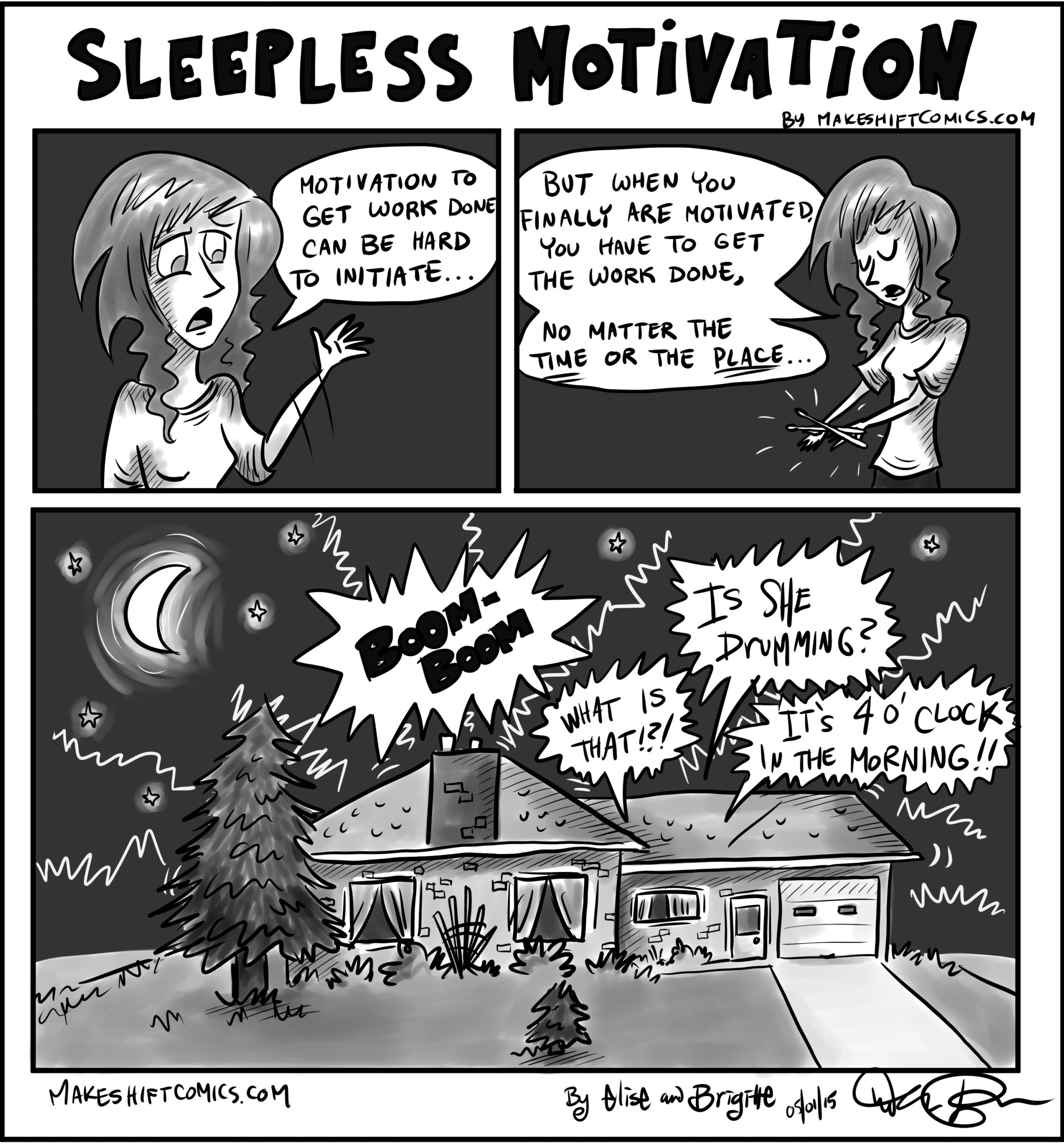 Sleepless Motivation