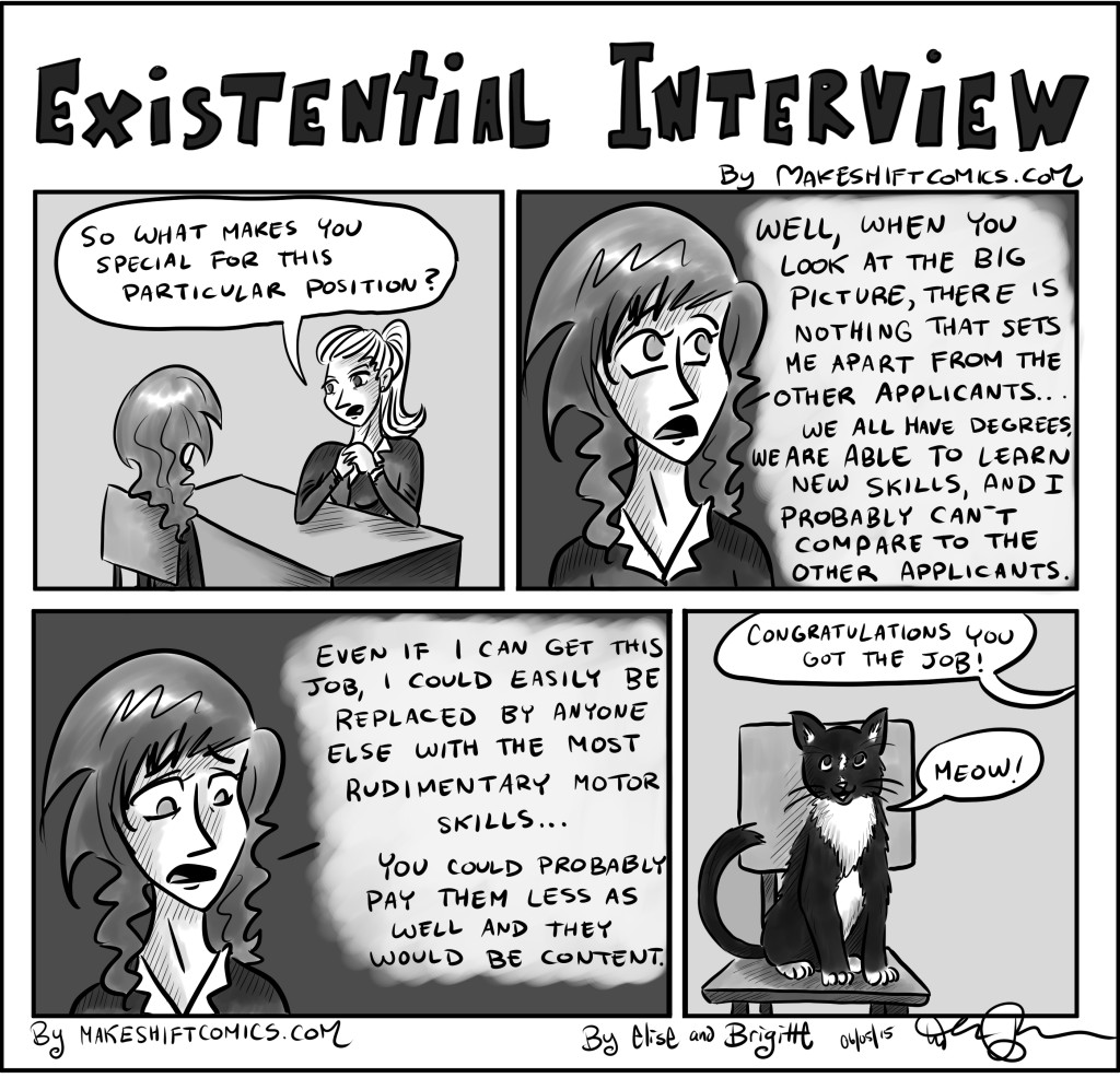 Existential Interview - Makeshift Comics!