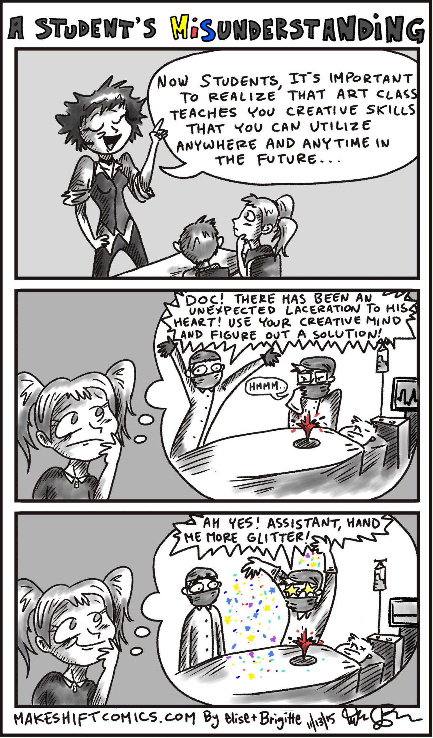 A Student's Misunderstanding