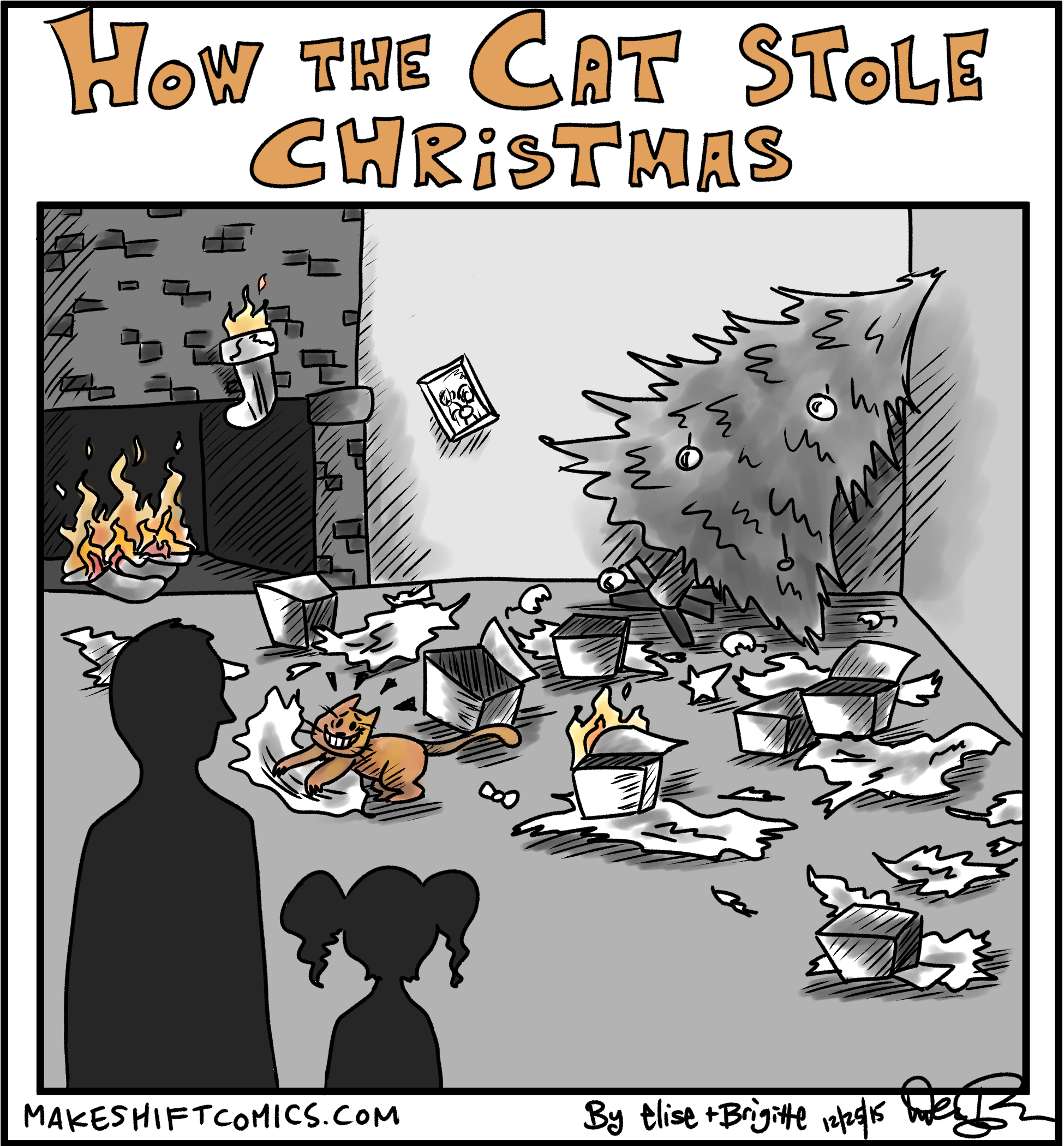 How the Cat Stole Christmas