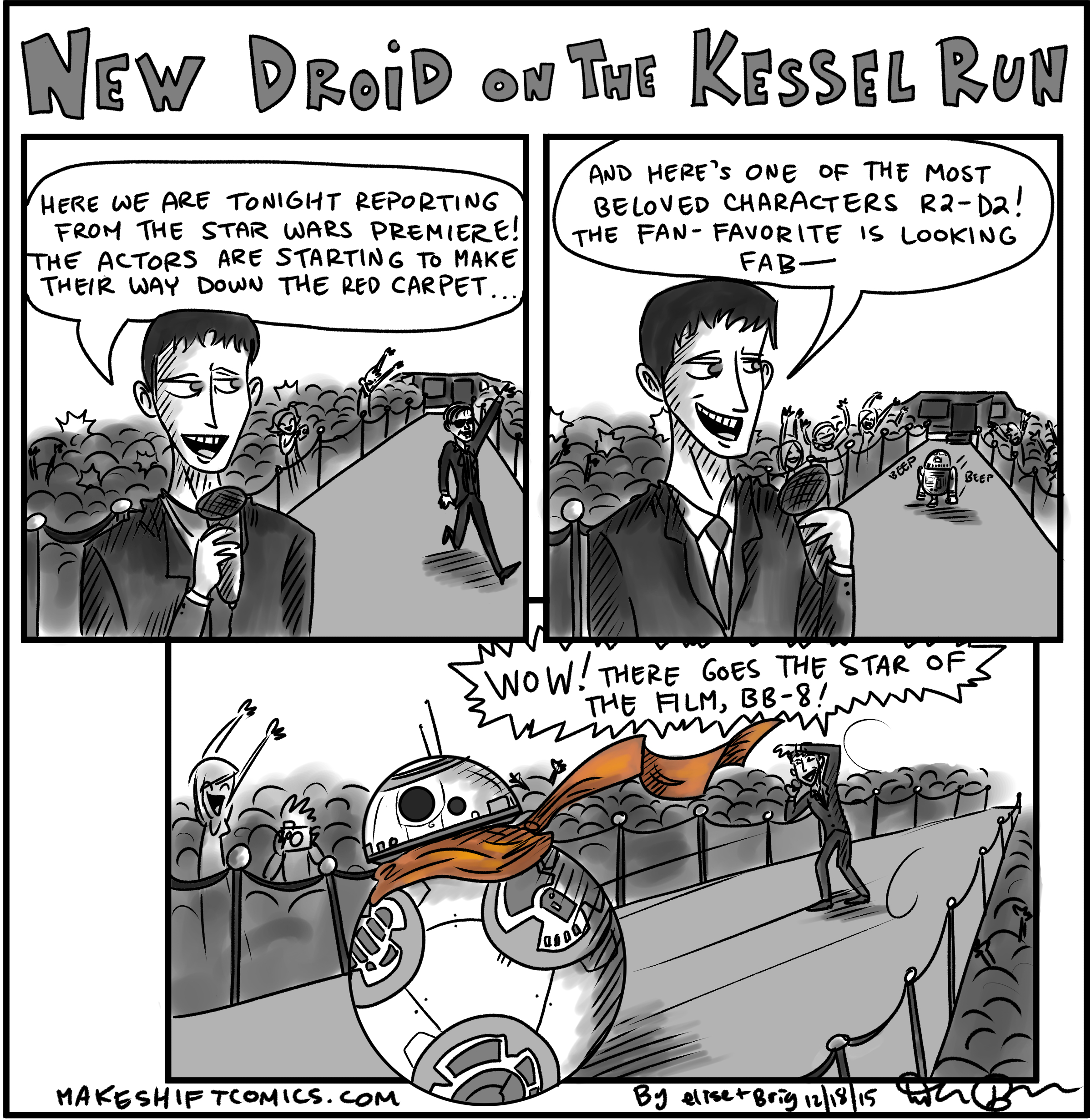 New Droid on the Kessel Run