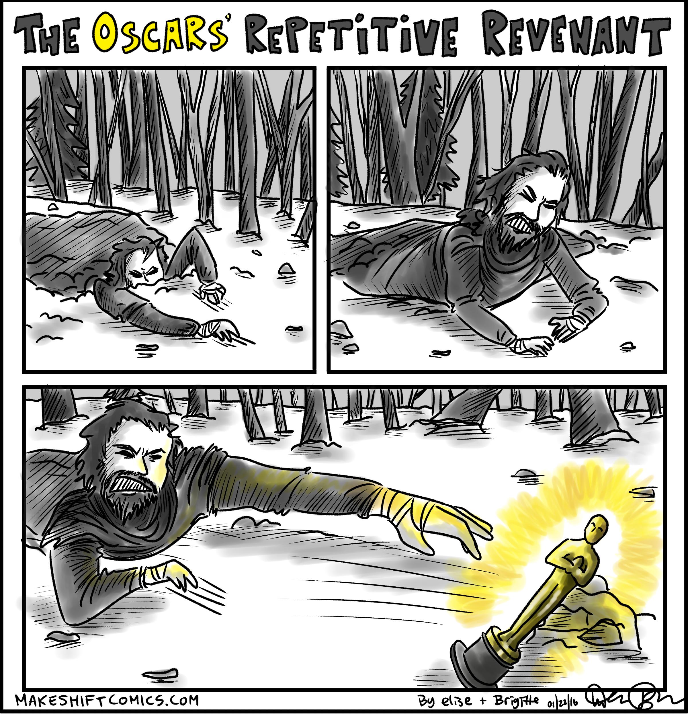 The Oscars' Repetitive Revenant