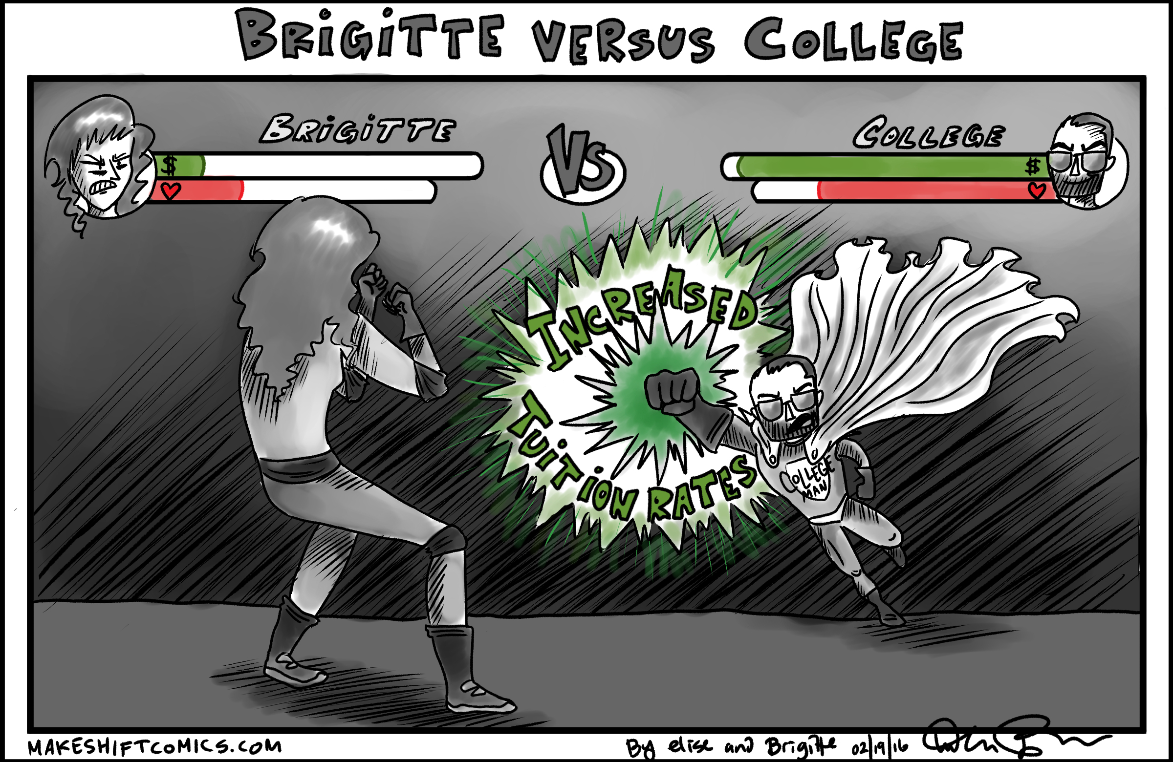 Brigitte Versus College