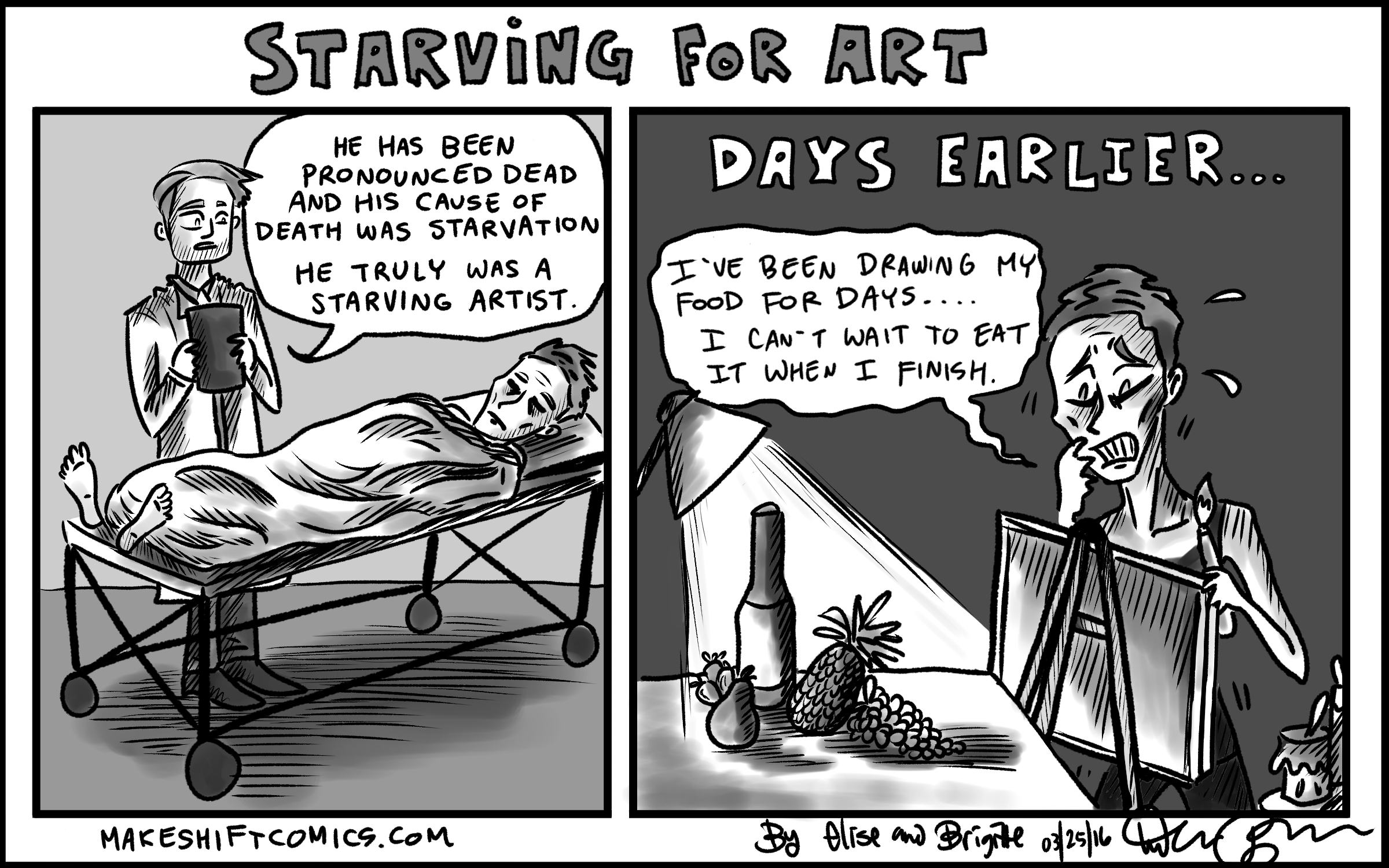 Starving for Art