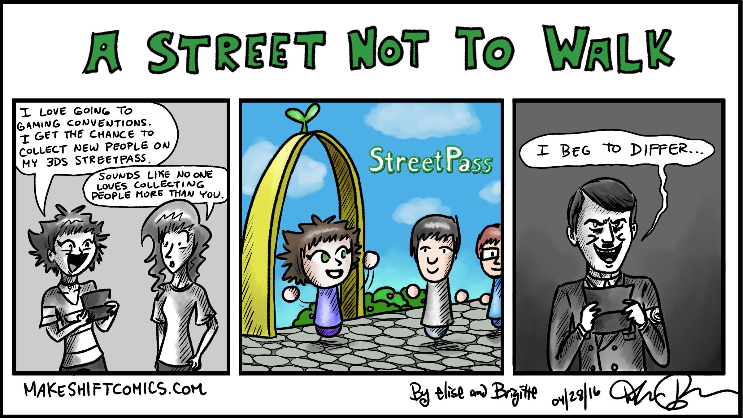 A Street Not to Walk