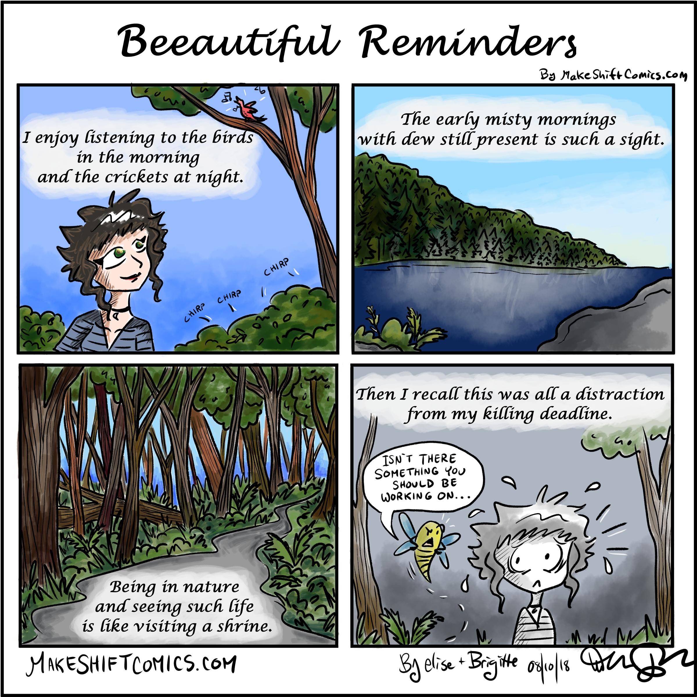Beeautiful Reminders